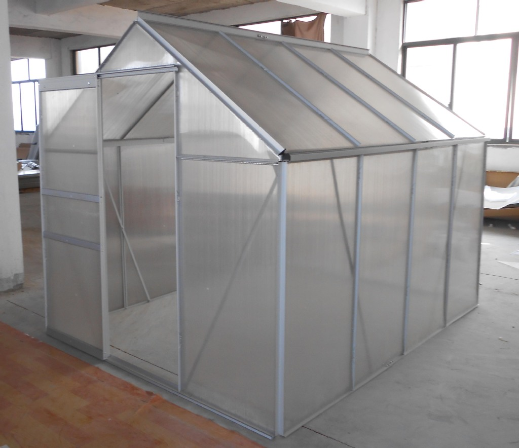aluminum  green house