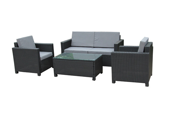 outdoor rattan furniture 4 pcs